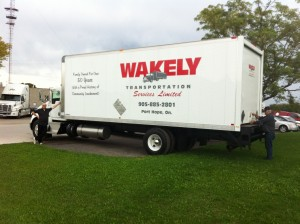 Wakely Transport Large Van